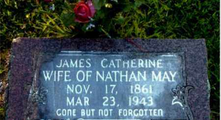 MAY, JAMES CATHERINE - Boone County, Arkansas | JAMES CATHERINE MAY - Arkansas Gravestone Photos