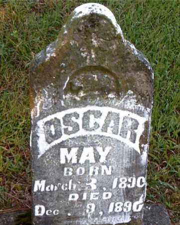 MAY, OSCAR - Boone County, Arkansas | OSCAR MAY - Arkansas Gravestone Photos