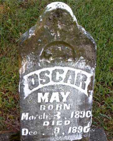 MAY, OSCAR - Boone County, Arkansas | OSCAR MAY - Arkansas Gravestone Photos