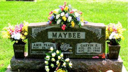 MAYBEE, GARVIN E. - Boone County, Arkansas | GARVIN E. MAYBEE - Arkansas Gravestone Photos