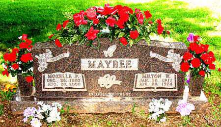 MAYBEE, MOZELLE P. - Boone County, Arkansas | MOZELLE P. MAYBEE - Arkansas Gravestone Photos