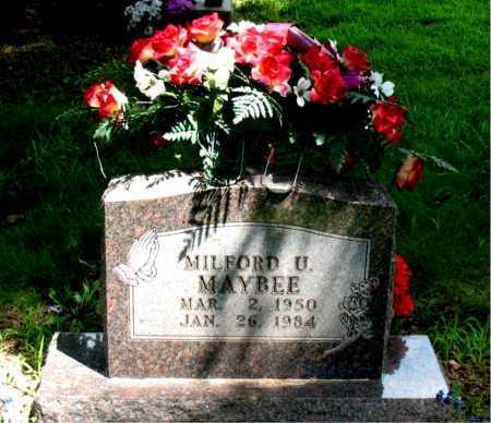 MAYBEE, MILFORD U. - Boone County, Arkansas | MILFORD U. MAYBEE - Arkansas Gravestone Photos