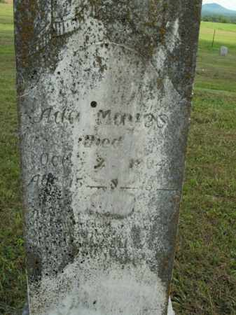 MAYES, ADA - Boone County, Arkansas | ADA MAYES - Arkansas Gravestone Photos