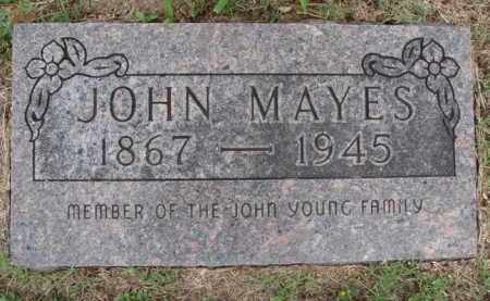 MAYES, JOHN - Boone County, Arkansas | JOHN MAYES - Arkansas Gravestone Photos