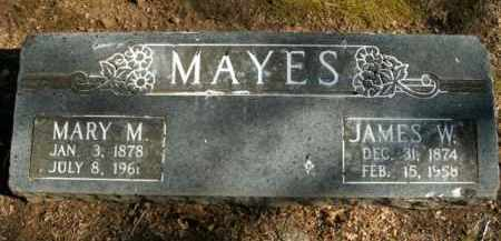 MAYES, MARY MALISSIA - Boone County, Arkansas | MARY MALISSIA MAYES - Arkansas Gravestone Photos