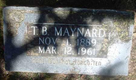 MAYNARD, T B - Boone County, Arkansas | T B MAYNARD - Arkansas Gravestone Photos