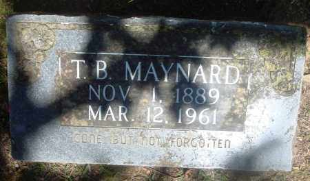 MAYNARD, THOMAS BERRY - Boone County, Arkansas | THOMAS BERRY MAYNARD - Arkansas Gravestone Photos