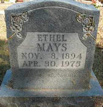 MAYS, ETHEL - Boone County, Arkansas | ETHEL MAYS - Arkansas Gravestone Photos