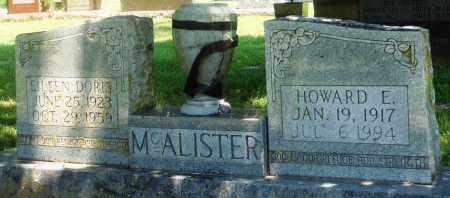 MCALISTER, EILEEN DORIS - Boone County, Arkansas | EILEEN DORIS MCALISTER - Arkansas Gravestone Photos