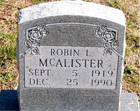MCALISTER, ROBIN  L. - Boone County, Arkansas | ROBIN  L. MCALISTER - Arkansas Gravestone Photos