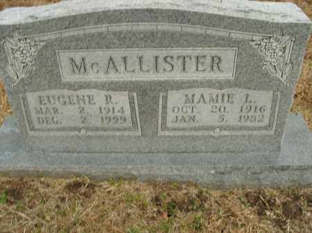 MCALLISTER, EUGENE R. - Boone County, Arkansas | EUGENE R. MCALLISTER - Arkansas Gravestone Photos