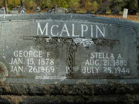 MCALPIN, GEORGE F. - Boone County, Arkansas | GEORGE F. MCALPIN - Arkansas Gravestone Photos