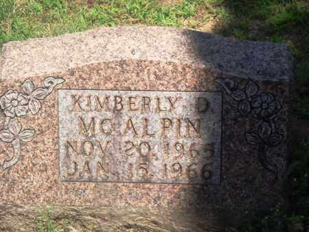 MCALPIN, KIMBERLY D - Boone County, Arkansas | KIMBERLY D MCALPIN - Arkansas Gravestone Photos