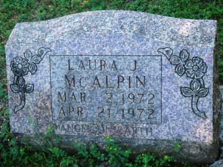 MCALPIN, LAURA J - Boone County, Arkansas | LAURA J MCALPIN - Arkansas Gravestone Photos
