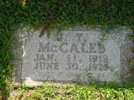 MCCALEB, J.T. - Boone County, Arkansas | J.T. MCCALEB - Arkansas Gravestone Photos
