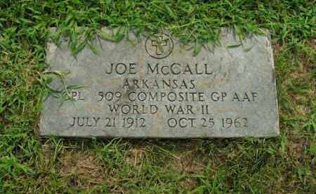 MCCALL  (VETERAN WWII), JOE - Boone County, Arkansas | JOE MCCALL  (VETERAN WWII) - Arkansas Gravestone Photos