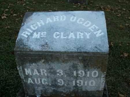 MCCLARY, RICHARD OGDEN - Boone County, Arkansas   RICHARD OGDEN MCCLARY - Arkansas Gravestone Photos