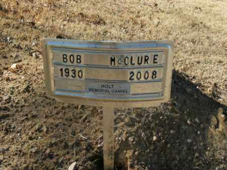 MCCLURE, BOB - Boone County, Arkansas | BOB MCCLURE - Arkansas Gravestone Photos
