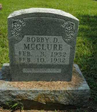 MCCLURE, BOBBY D. - Boone County, Arkansas | BOBBY D. MCCLURE - Arkansas Gravestone Photos