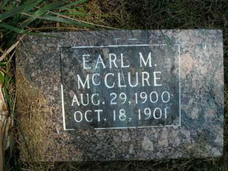 MCCLURE, EARL M. - Boone County, Arkansas | EARL M. MCCLURE - Arkansas Gravestone Photos