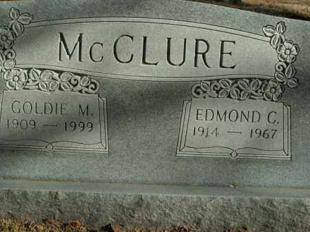 MCCLURE, EDMOND C. - Boone County, Arkansas | EDMOND C. MCCLURE - Arkansas Gravestone Photos
