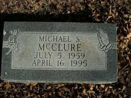 MCCLURE, MICHAEL S. - Boone County, Arkansas | MICHAEL S. MCCLURE - Arkansas Gravestone Photos