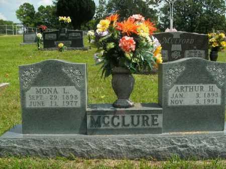 MCCLURE, ARTHUR H. - Boone County, Arkansas | ARTHUR H. MCCLURE - Arkansas Gravestone Photos