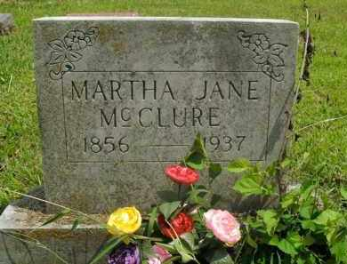 POPE MCCLURE, MARTHA JANE - Boone County, Arkansas | MARTHA JANE POPE MCCLURE - Arkansas Gravestone Photos