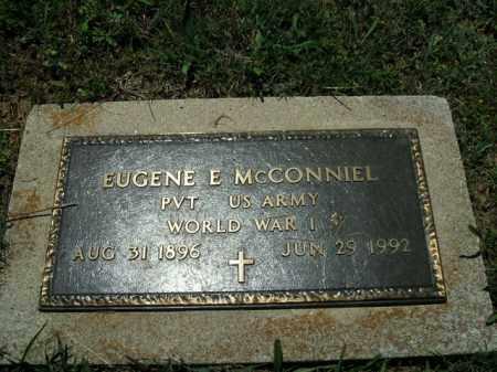 MCCONNIEL  (VETERAN WWI), EUGENE E. - Boone County, Arkansas | EUGENE E. MCCONNIEL  (VETERAN WWI) - Arkansas Gravestone Photos