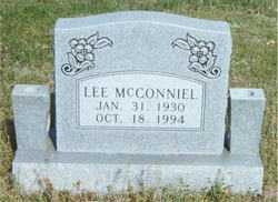 MCCONNIEL, LEE - Boone County, Arkansas | LEE MCCONNIEL - Arkansas Gravestone Photos