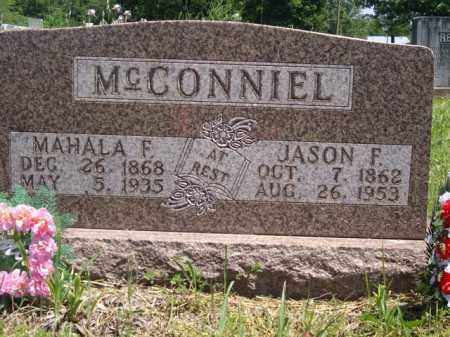 MCCONNIEL, JASON F. - Boone County, Arkansas | JASON F. MCCONNIEL - Arkansas Gravestone Photos