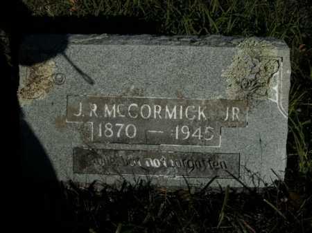 MCCORMICK, J. R. , JR. - Boone County, Arkansas   J. R. , JR. MCCORMICK - Arkansas Gravestone Photos