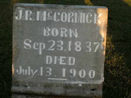 MCCORMICK, J.R. - Boone County, Arkansas | J.R. MCCORMICK - Arkansas Gravestone Photos