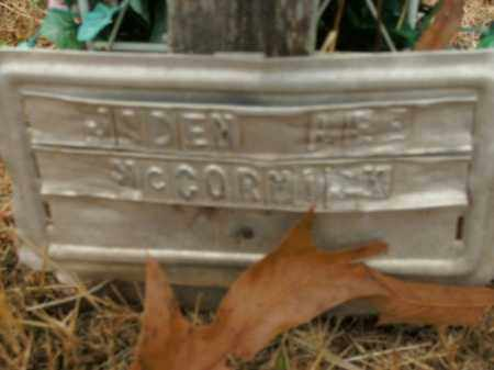 MCCORMICK, JADEN LEE - Boone County, Arkansas | JADEN LEE MCCORMICK - Arkansas Gravestone Photos