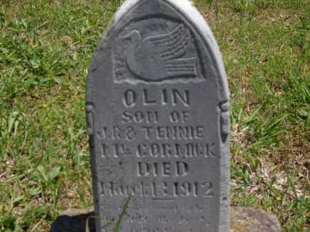 MCCORMICK, OLIN - Boone County, Arkansas | OLIN MCCORMICK - Arkansas Gravestone Photos