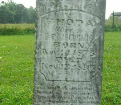 MCCORMICK, RHODA B - Boone County, Arkansas | RHODA B MCCORMICK - Arkansas Gravestone Photos