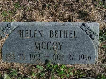 MCCOY, HELEN BETHEL - Boone County, Arkansas | HELEN BETHEL MCCOY - Arkansas Gravestone Photos
