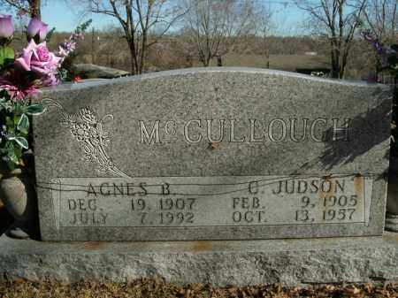MCCULLOUGH, CAREY JUDSON - Boone County, Arkansas | CAREY JUDSON MCCULLOUGH - Arkansas Gravestone Photos