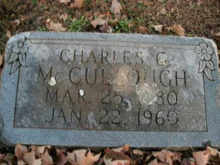 MCCULLOUGH, CHARLES G. - Boone County, Arkansas | CHARLES G. MCCULLOUGH - Arkansas Gravestone Photos