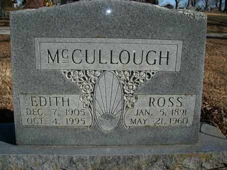 MCCULLOUGH, EDITH - Boone County, Arkansas | EDITH MCCULLOUGH - Arkansas Gravestone Photos