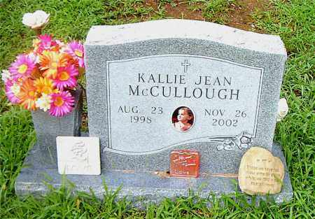 MCCULLOUGH, KALLIE JEAN - Boone County, Arkansas | KALLIE JEAN MCCULLOUGH - Arkansas Gravestone Photos