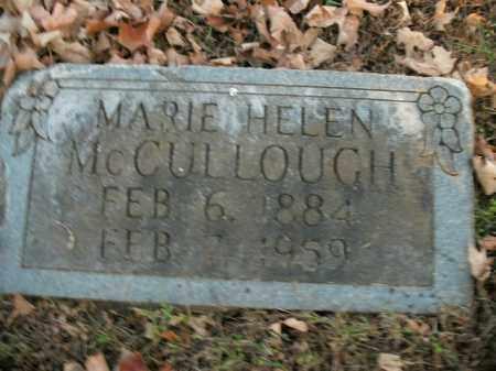MCCULLOUGH, MARIE HELEN - Boone County, Arkansas | MARIE HELEN MCCULLOUGH - Arkansas Gravestone Photos