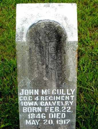 MCCULLY  (VETERAN UNION), JOHN - Boone County, Arkansas | JOHN MCCULLY  (VETERAN UNION) - Arkansas Gravestone Photos
