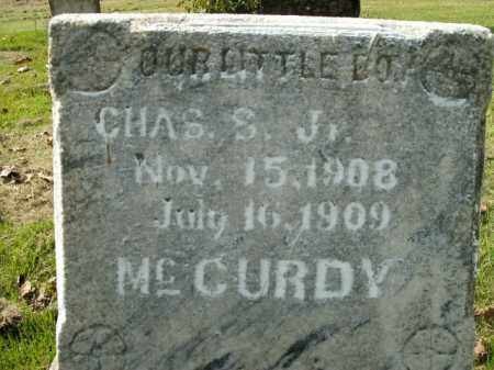 MCCURDY, CHARLES S. JR - Boone County, Arkansas | CHARLES S. JR MCCURDY - Arkansas Gravestone Photos