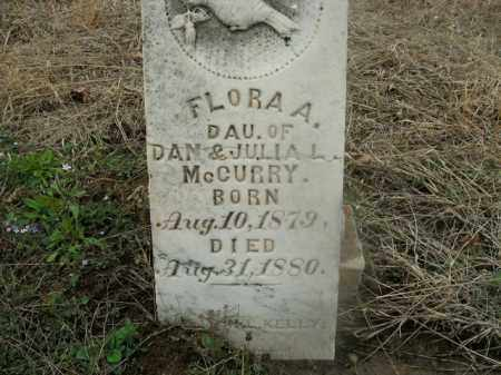 MCCURRY, FLORA A. - Boone County, Arkansas | FLORA A. MCCURRY - Arkansas Gravestone Photos