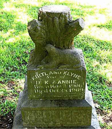 MCCURRY, KIRTLAND KLYNE - Boone County, Arkansas   KIRTLAND KLYNE MCCURRY - Arkansas Gravestone Photos