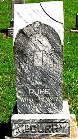 MCCURRY, RUBE - Boone County, Arkansas | RUBE MCCURRY - Arkansas Gravestone Photos