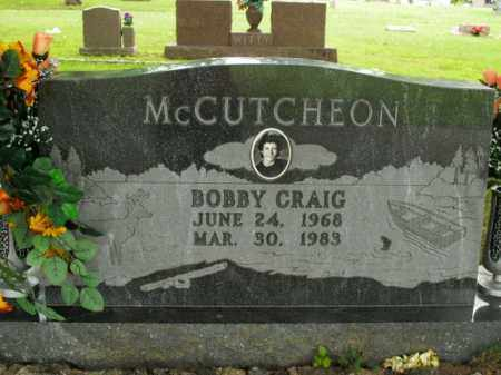MCCUTCHEON, BOBBY CRAIG - Boone County, Arkansas | BOBBY CRAIG MCCUTCHEON - Arkansas Gravestone Photos