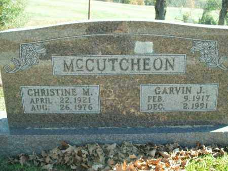MCCUTCHEON, CHRISTINE M. - Boone County, Arkansas | CHRISTINE M. MCCUTCHEON - Arkansas Gravestone Photos