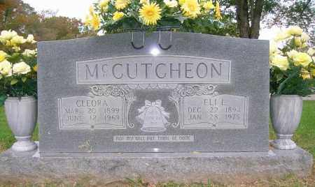 MCCUTCHEON, ELI L. - Boone County, Arkansas | ELI L. MCCUTCHEON - Arkansas Gravestone Photos